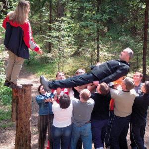 Лесной тренинг