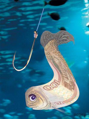ловим рыбу из денег как продать тренинг