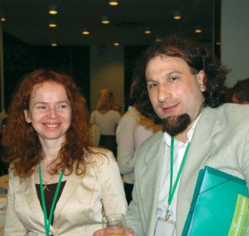 Элина Тришкина и Владислав Ермак