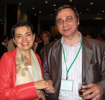 Ирина Радченко и Алексей Зданович