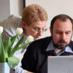 Анна Варга и компьютер