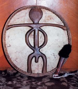 бубен шамана