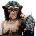 обезьянка мать