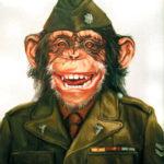 обезьянка пехотинец