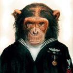 обезьянка матрос