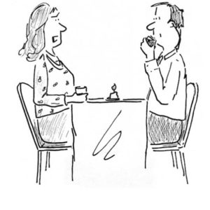 карикатура психолог скайп