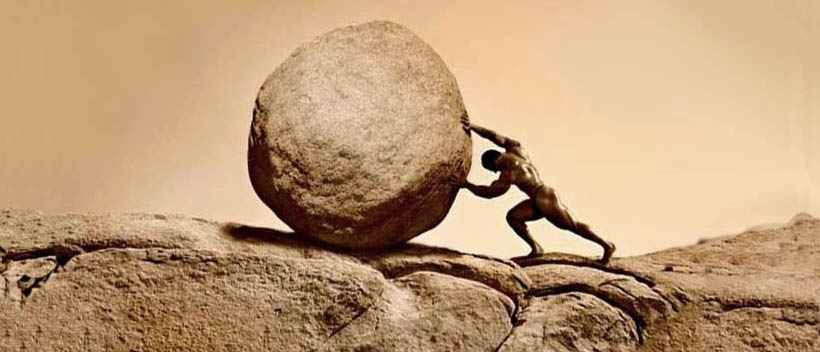 Как психологу помочь сизифу катить его камень