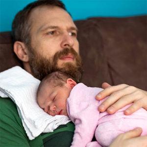 помощь отца в раннем младенчестве
